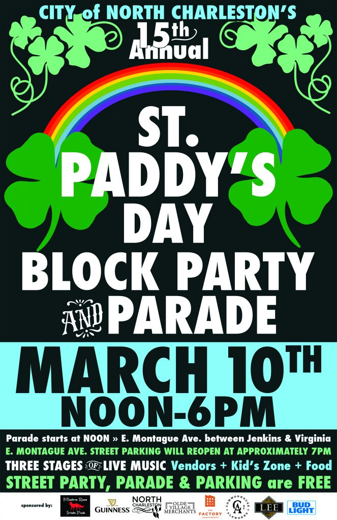St. Patrick's Day Block Party and Parade 2018 - Park Circle - Real Deal with Neil