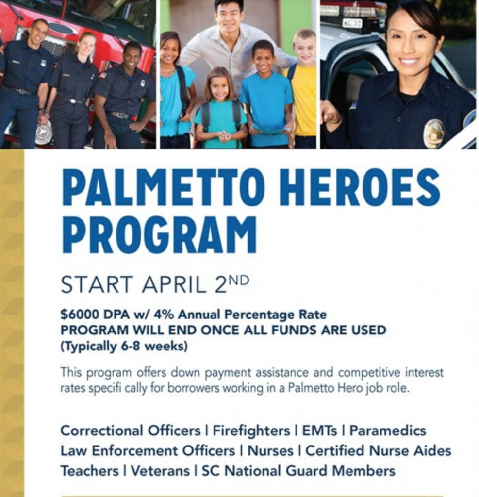 2018 Palmetto Heroes Program