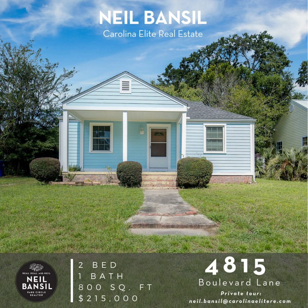 4815 Boulevard Lane - Park Circle Home for Sale