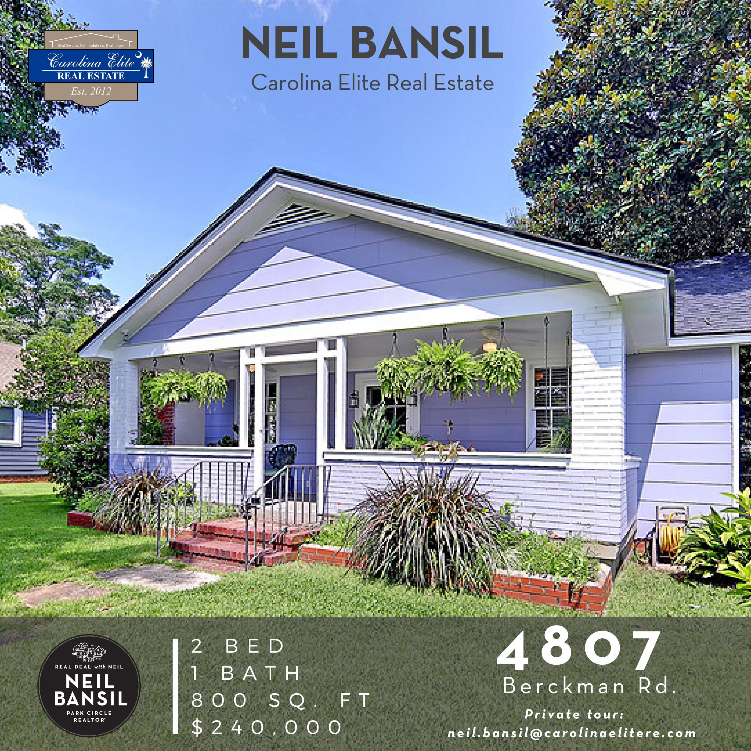 4807 Berckman Rd - Park Circle Home for Sale