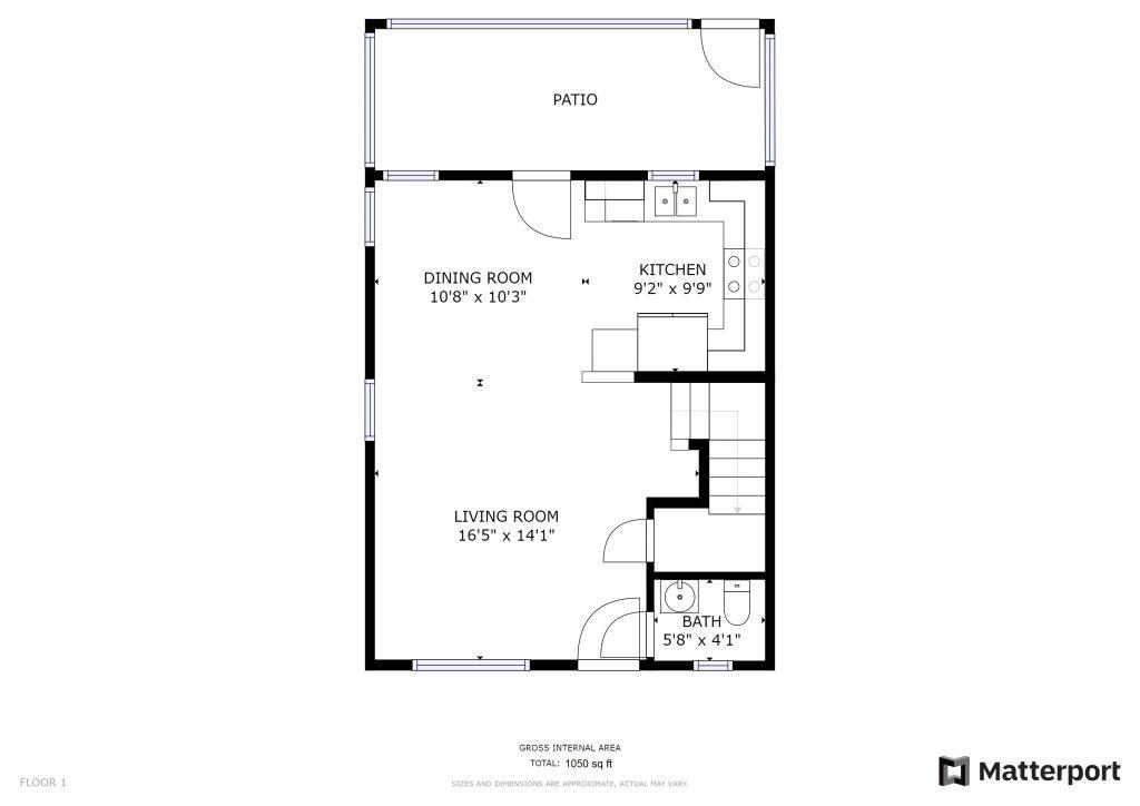 5112 E Liberty Park Circle - Floorplan - First Floor