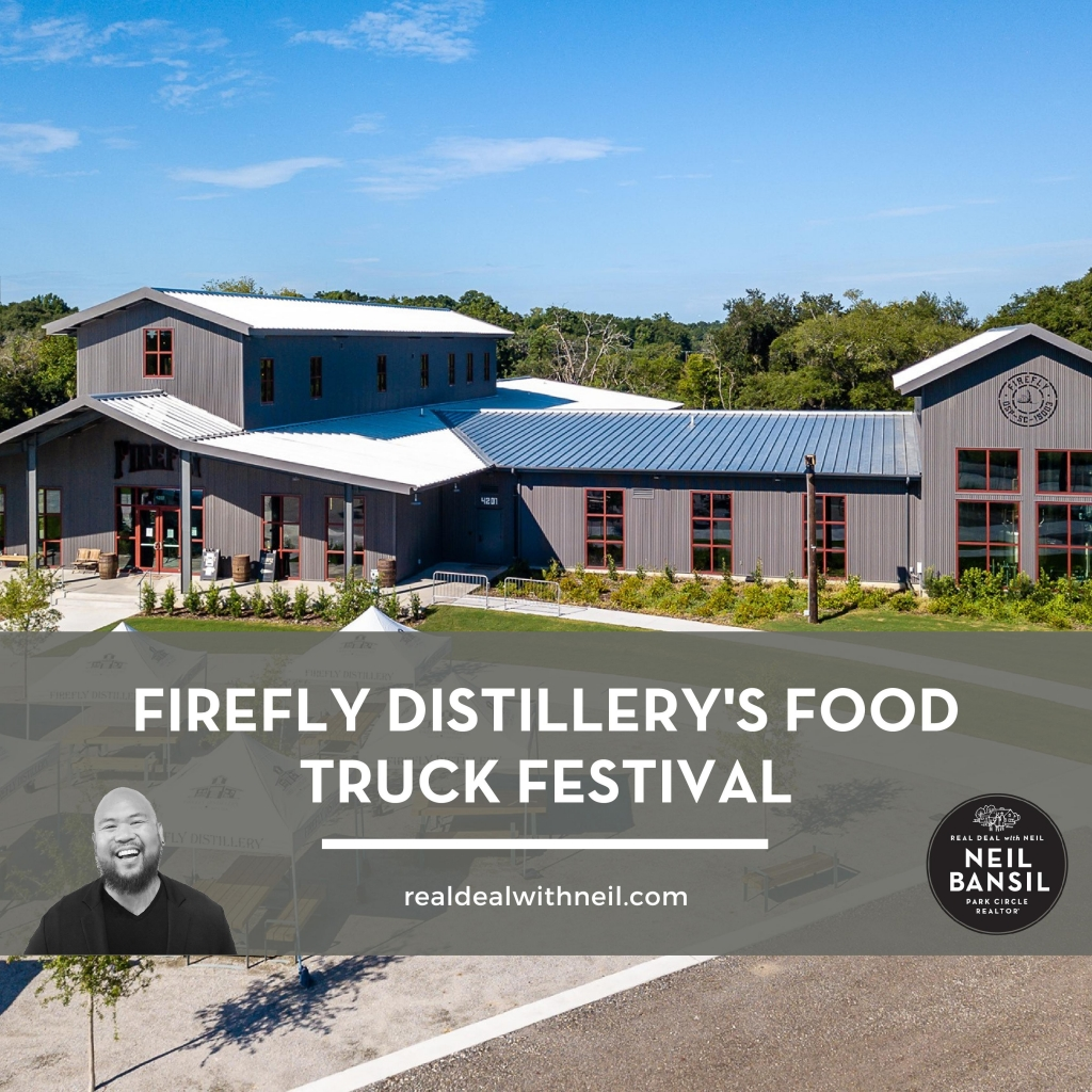 Firefly Distillery's Food Truck Festival - The Real Deal with Neil