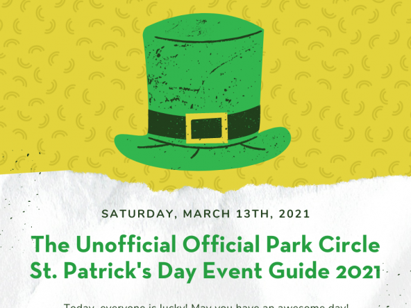 Unofficial Official Park Circle St. Patrick's Day Event Guide 2021