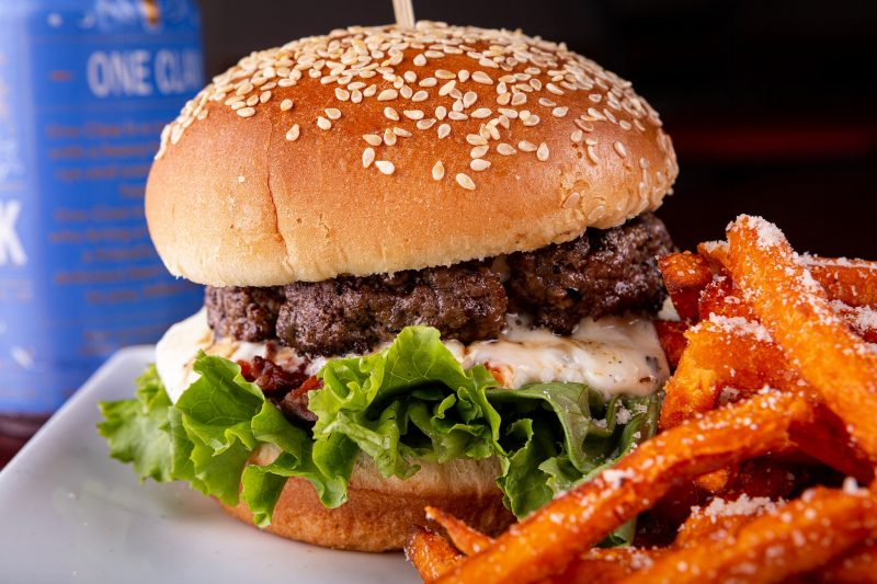 Dine and Donate - Sesame Burgers and Beer