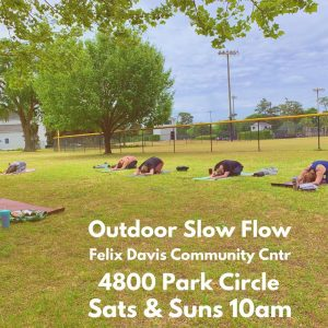 Outdoor Slow Flow Yoga with Masie - Barefoot Yoga