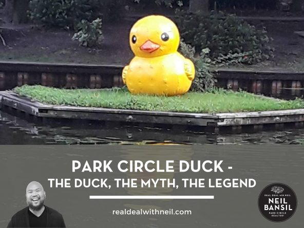 Park Circle Duck - The Duck, The Myth, The Legend