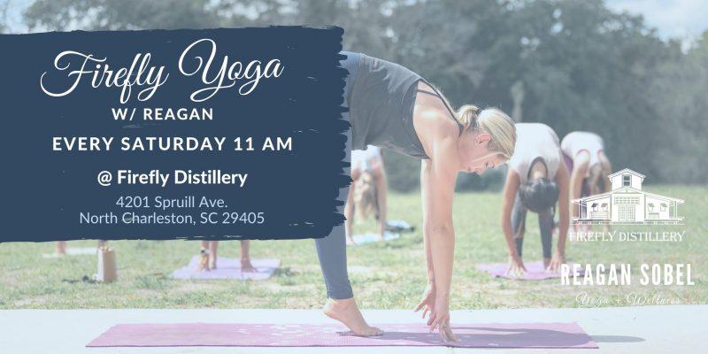 Yoga at Firefly Distillery with Reagan Sobel