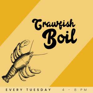Crawfish Boil Tuesdays at Lola