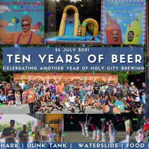 Holy City Brewing 10-Year Anniversary Party