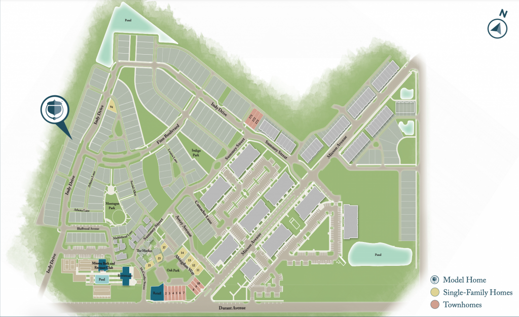 Mixson Site Plan - Phase 8 - Real Deal with Neil