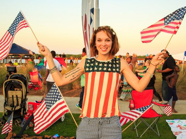 Fourth of July at Riverfront Park 2021