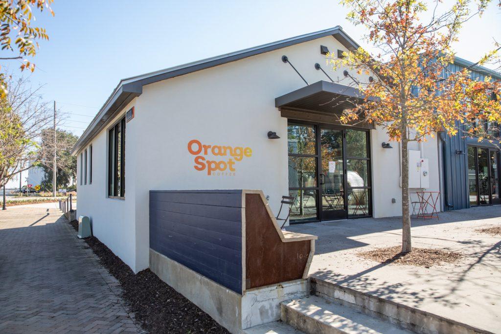 Park Circle - Orange Spot