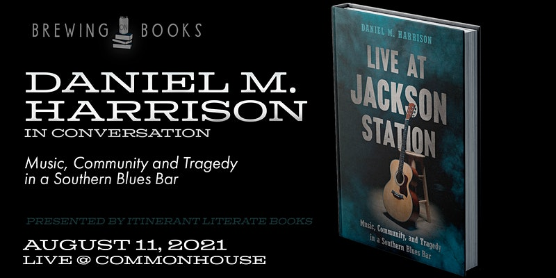 Brewing on Books - Live at Jackson Station