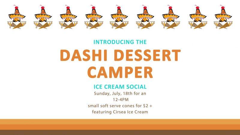 Dashi Ice Cream Social