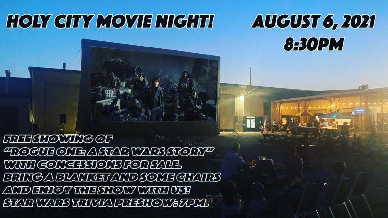Holy City Movie Night: Rogue One