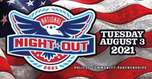 National Night Out 2021 at Park Circle