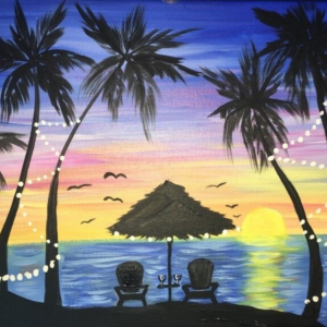 Paint and Sip at Holy City Brewing