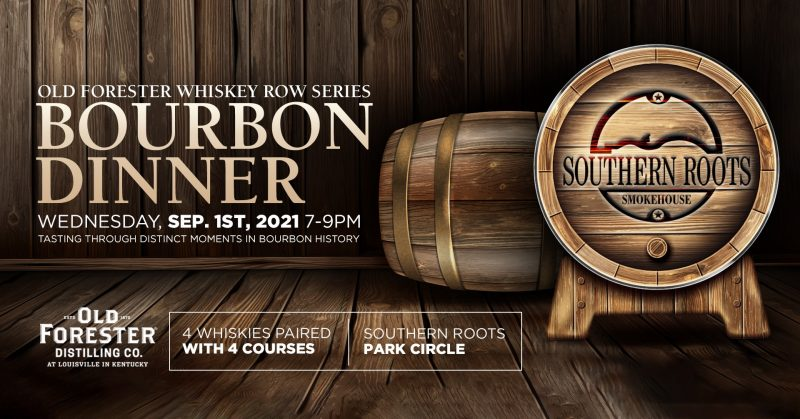 Bourbon & BBQ- Old Forester Whisky Row Tasting