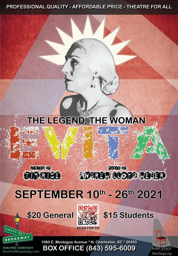 Evita - South of Broadway Theatre