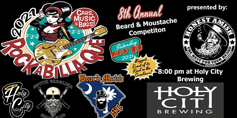 8th Annual Rockabilla-Que Beard and Moustache Competition
