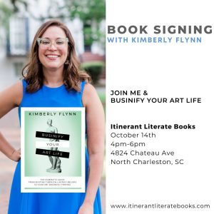 Book Signing With Kimberly Flynn at Itinerant Literate Books