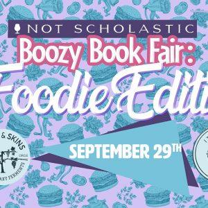Boozy Book Fair - Foodie Edition