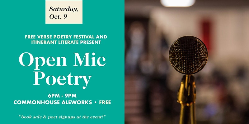 Open Mic Poetry at Commonhouse Aleworks